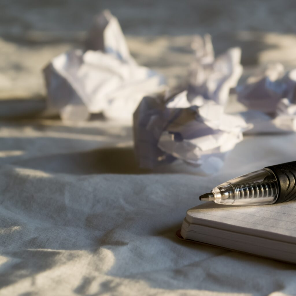 My Writing Process: The Painful First Draft